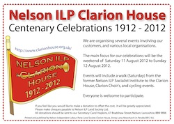 Clarion House Centenary Poster