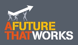 TUC FutureWorks logo grey