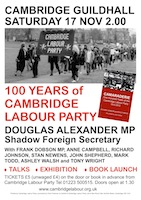 Cambridge LP poster
