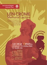 Orwell conference poster