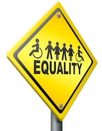 Disabled equality sign