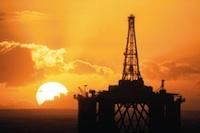 Scotland oil rig
