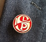 ILP S lapel badge small