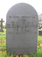 Alfred Martlew's grave